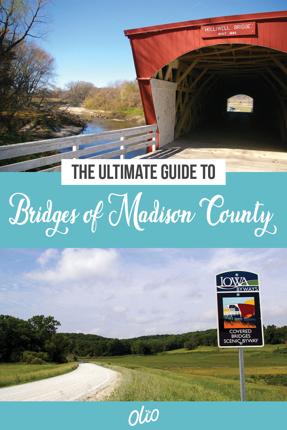 There's no better road trip than discovering Iowa's iconic Bridges of Madison County! Made famous by the 1992 book and subsequent movie starring Meryl Streep and Clint Eastwood, these historic covered bridges near Winterset, Iowa are a truly a sight to behold. Surrounded by breathtaking nature, the Bridges of Madison County are the perfect destination for families and photographers alike.