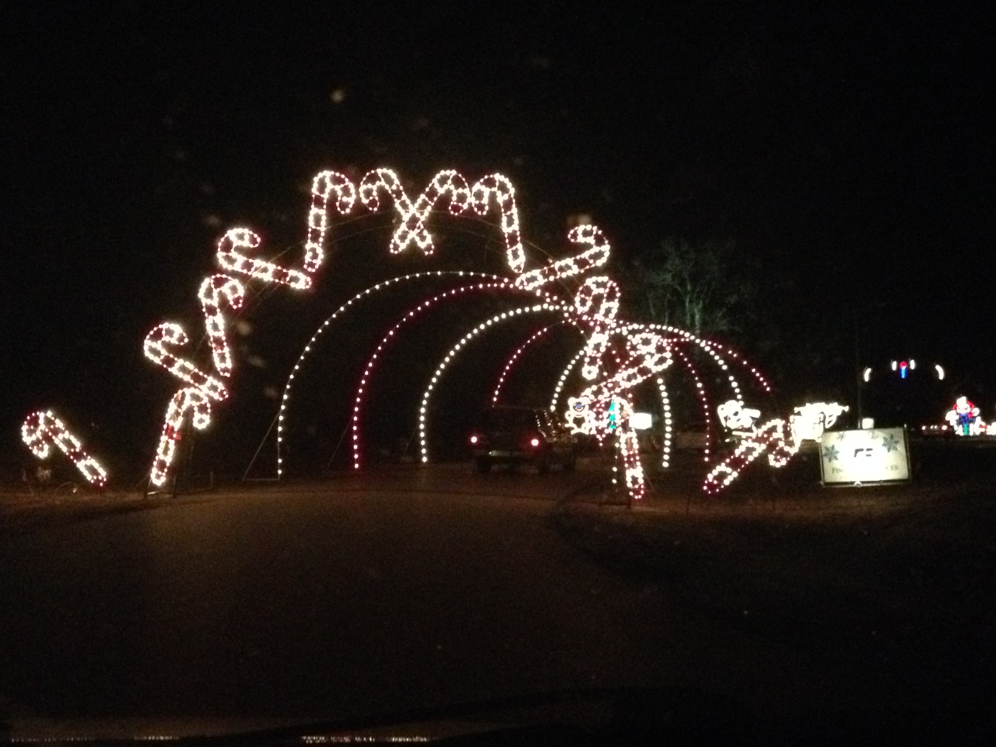Jolly Holiday Lights Olio In Iowa