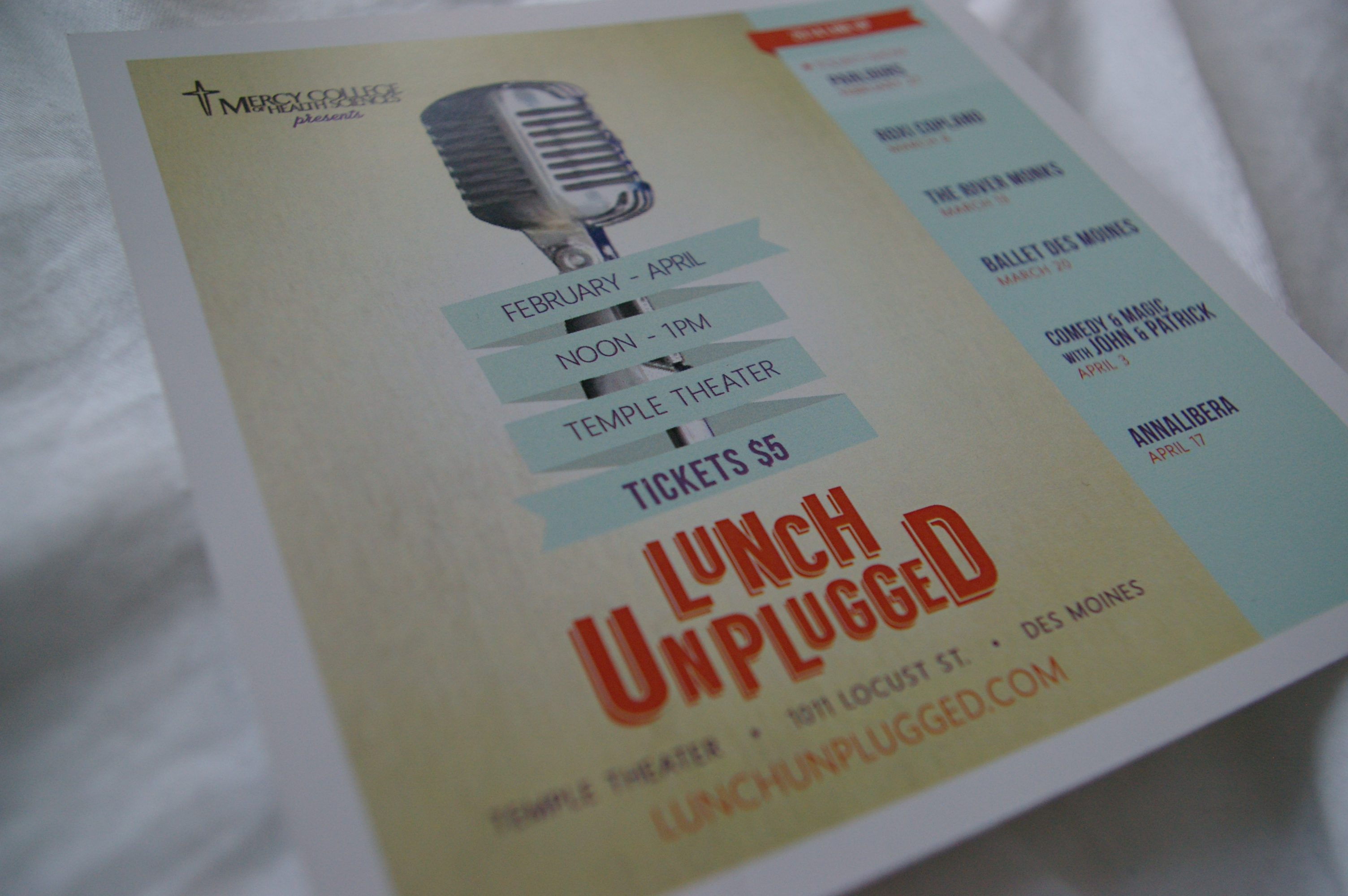 Lunch Unplugged