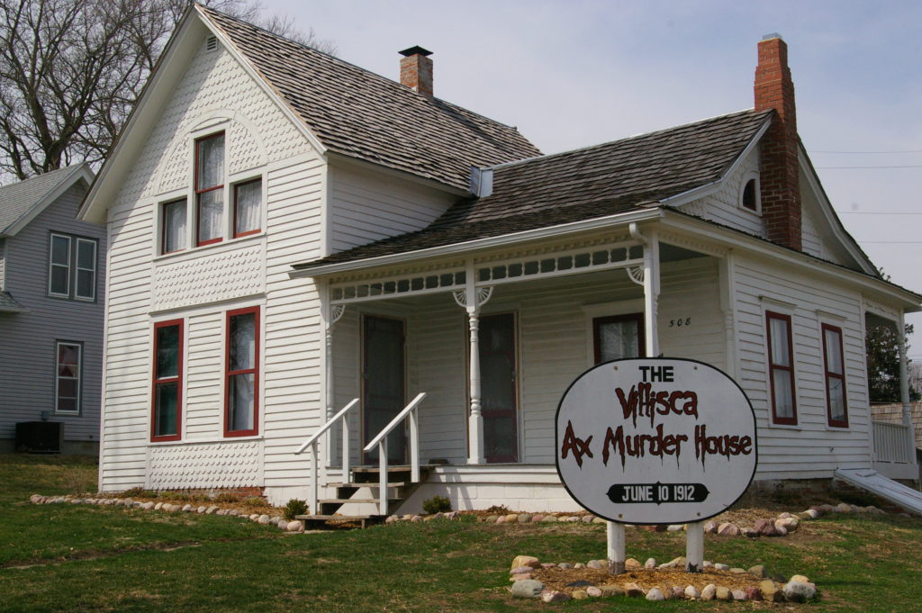 Exterior of the Villisca Ax Murder House in Villisca, Iowa