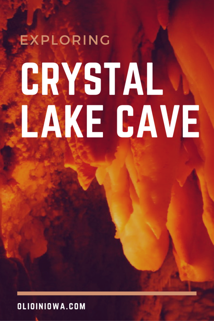 Explore underground in Dubuque's Crystal Lake Cave!