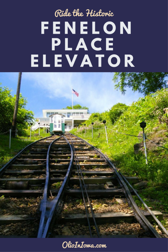 Take a ride on the historic Fenelon Place Elevator in Dubuque, Iowa!