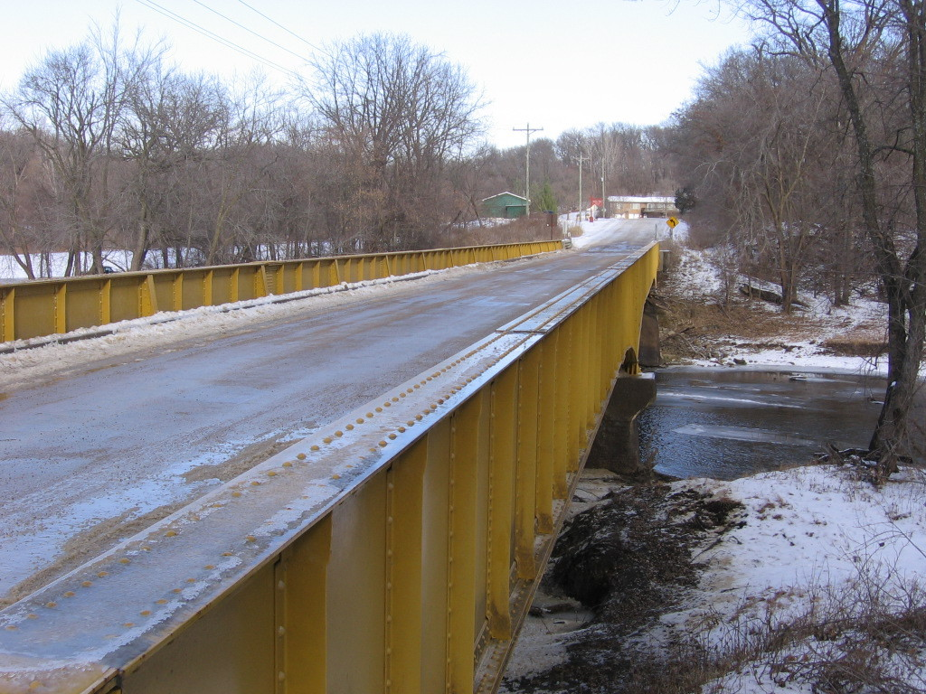 Matsell Bridge in Viola, Iowa