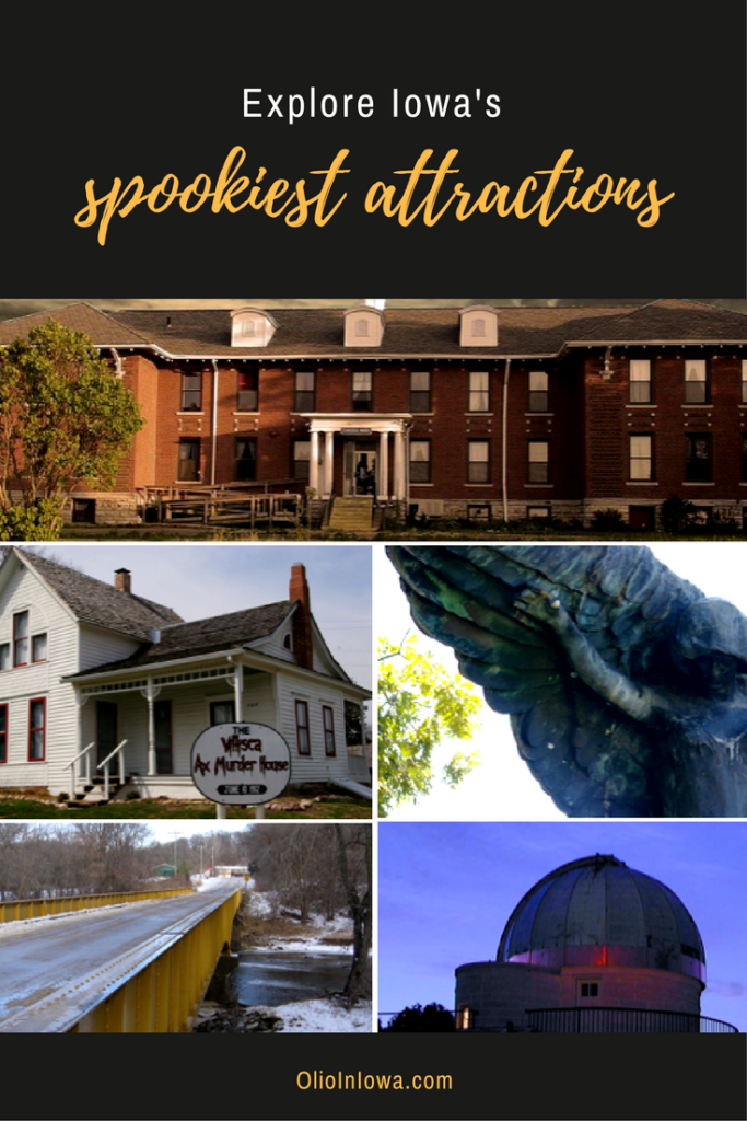 Have a hauntingly good time! Explore 5 of Iowa's spookiest attractions this Halloween.