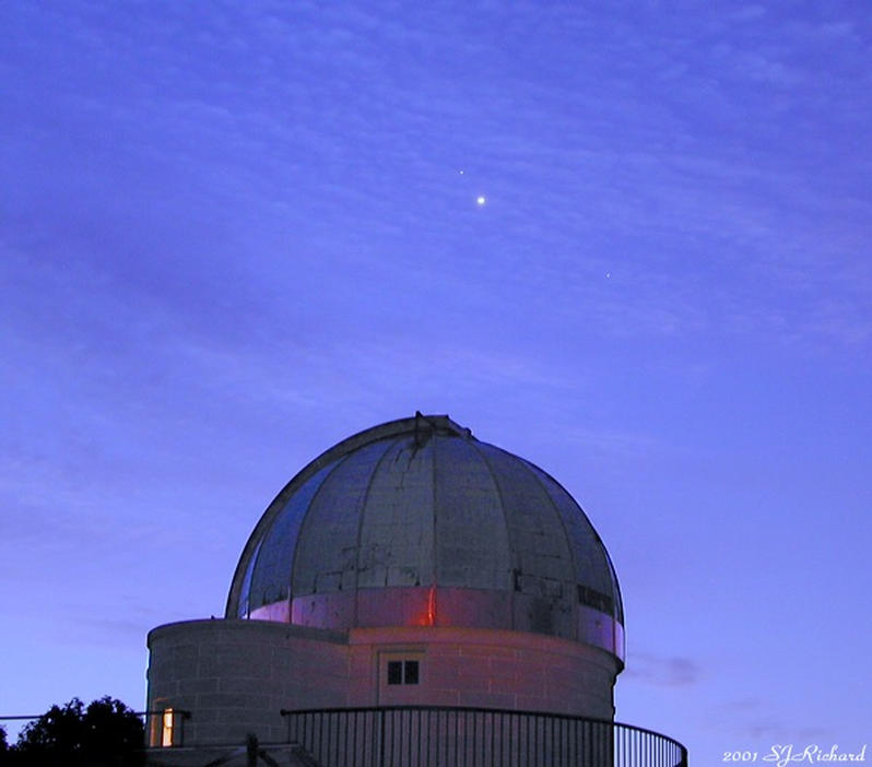 Drake University Observatory in Des Moines, Iowa