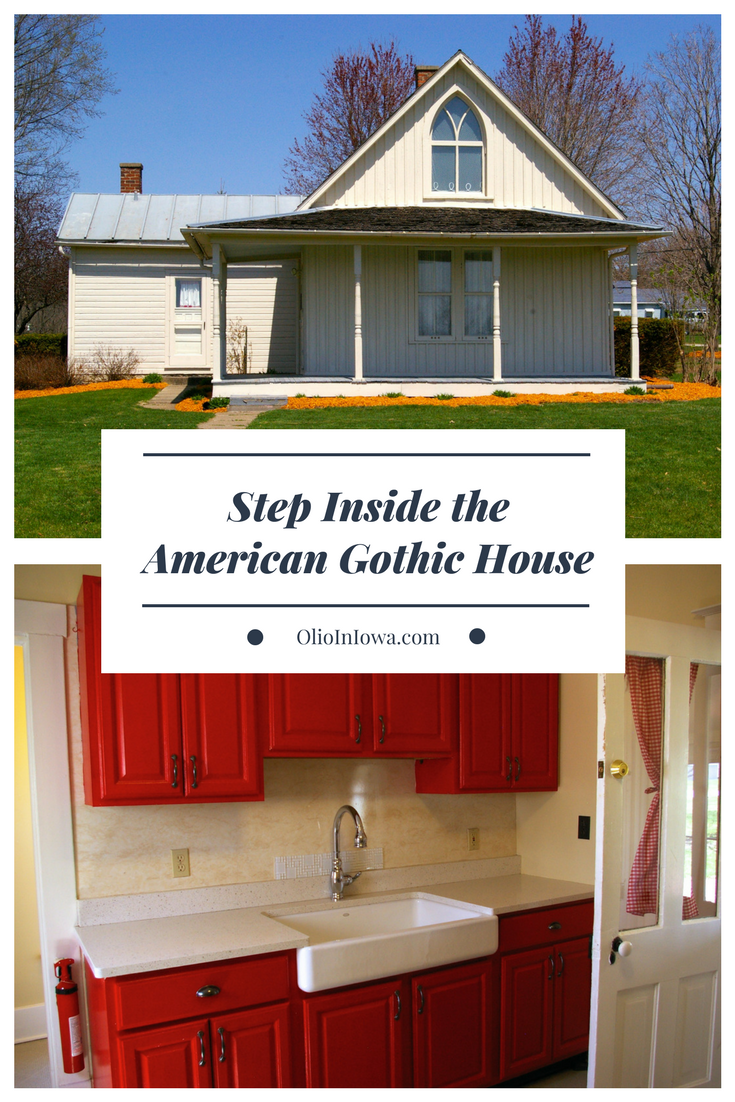 Grant Wood made the exterior of the American Gothic iconic. But have you ever wondered what's inside? Now you can step inside the American Gothic House in Eldon, Iowa.