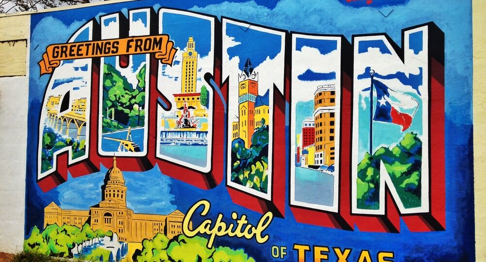 Greetings from Austin Mural