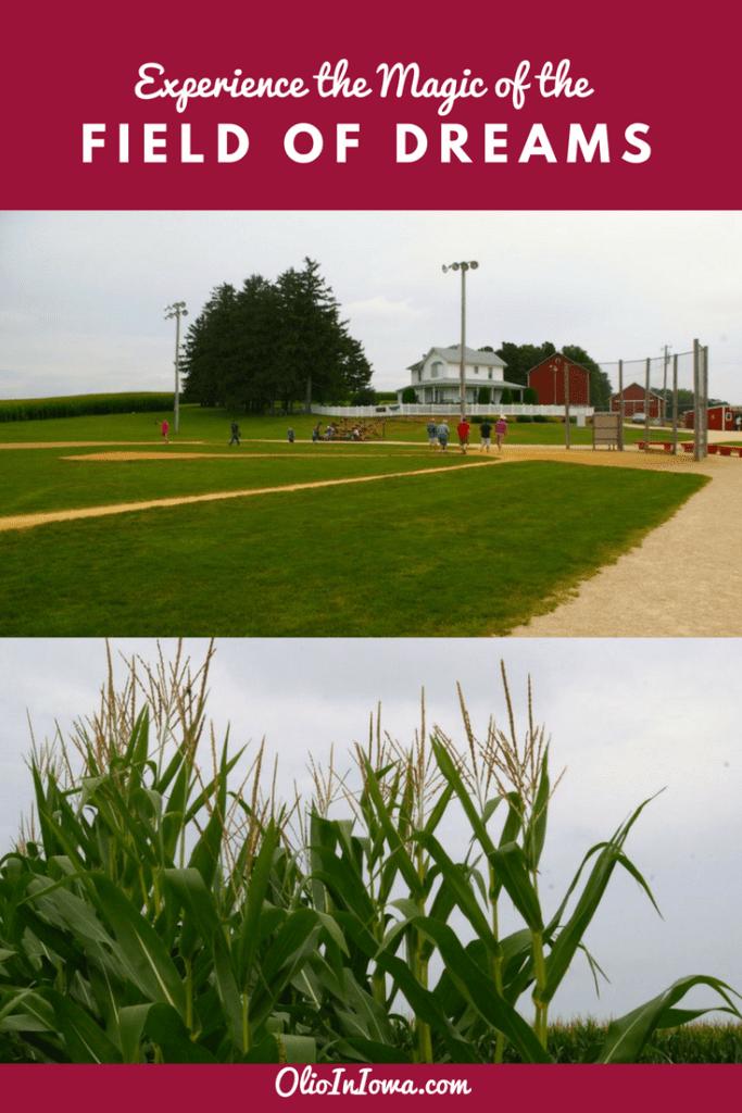 Is this heaven? No, it's Iowa! Experience the magic of the Field of Dreams near Dyersville, Iowa. #Iowa #FieldOfDreams