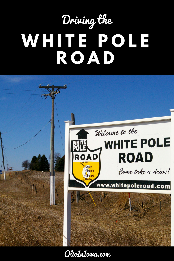 Drive back in time with a journey on central Iowa's historic White Pole Road!