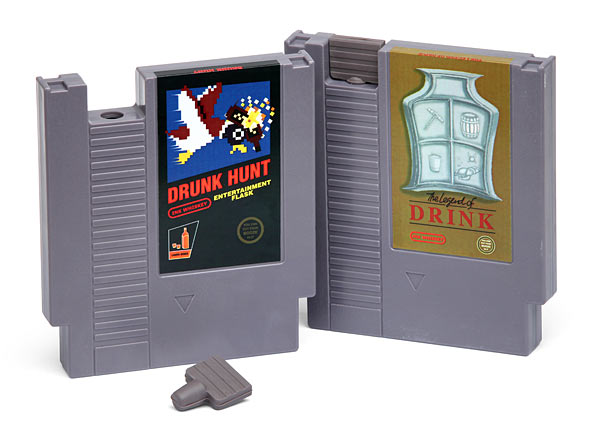 NES Game Flasks