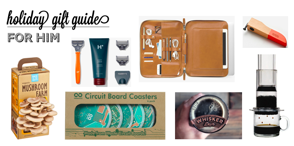 Holiday Gift Guide 2015: For Him