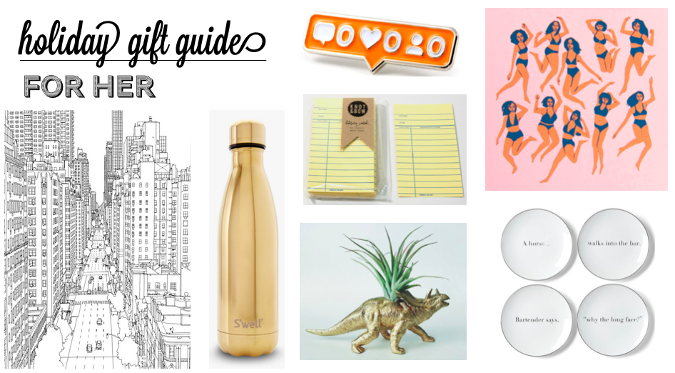 2015 Holiday Gift Guide: For Her