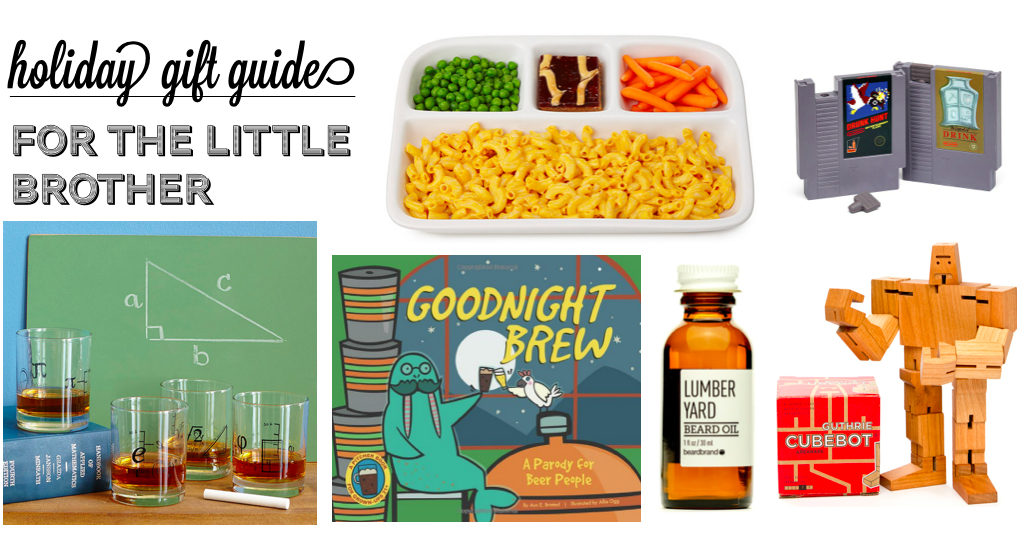 2015 Gift Guide: For your little brother