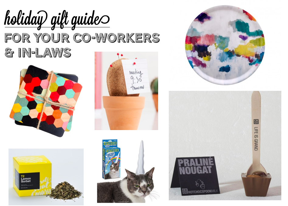 2015 Gift Guide: Co-workers & In-laws