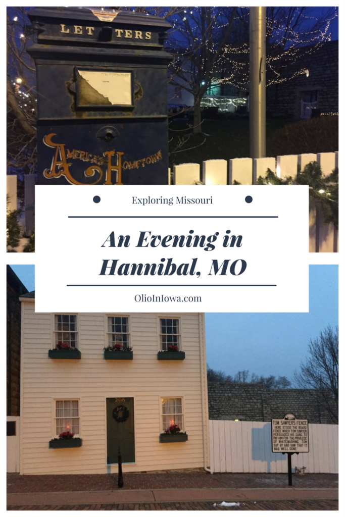Spend a historic evening in Hannibal, Missouri, home of author Mark Twain.