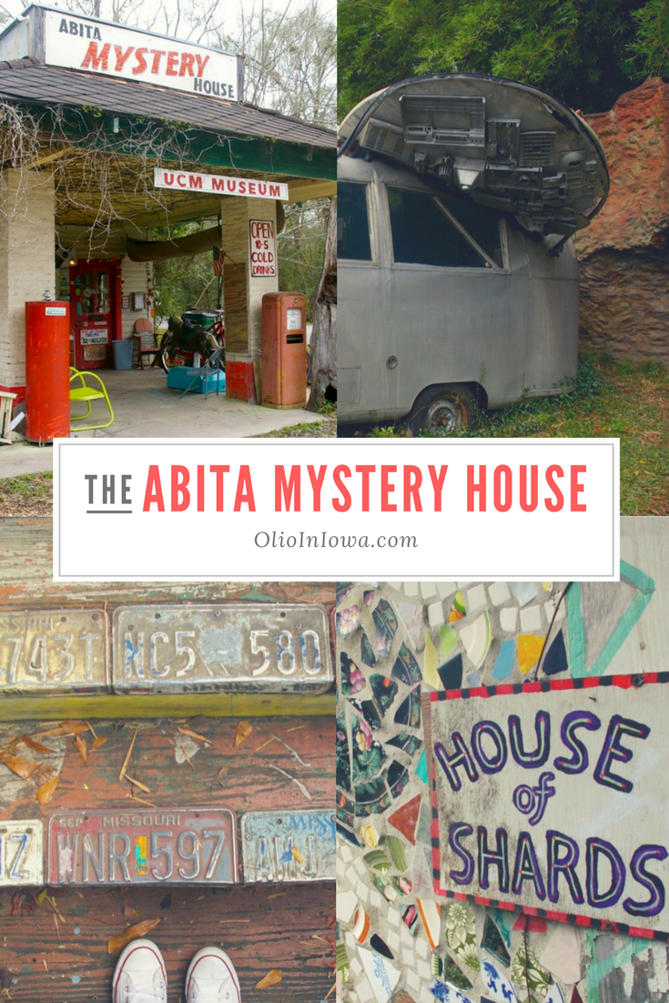 Discover the unlikely attraction that is the Abita Mystery House!