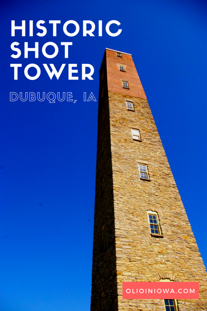 Discover one of the last remaining shot towers in the U.S. in Dubuque, Iowa!