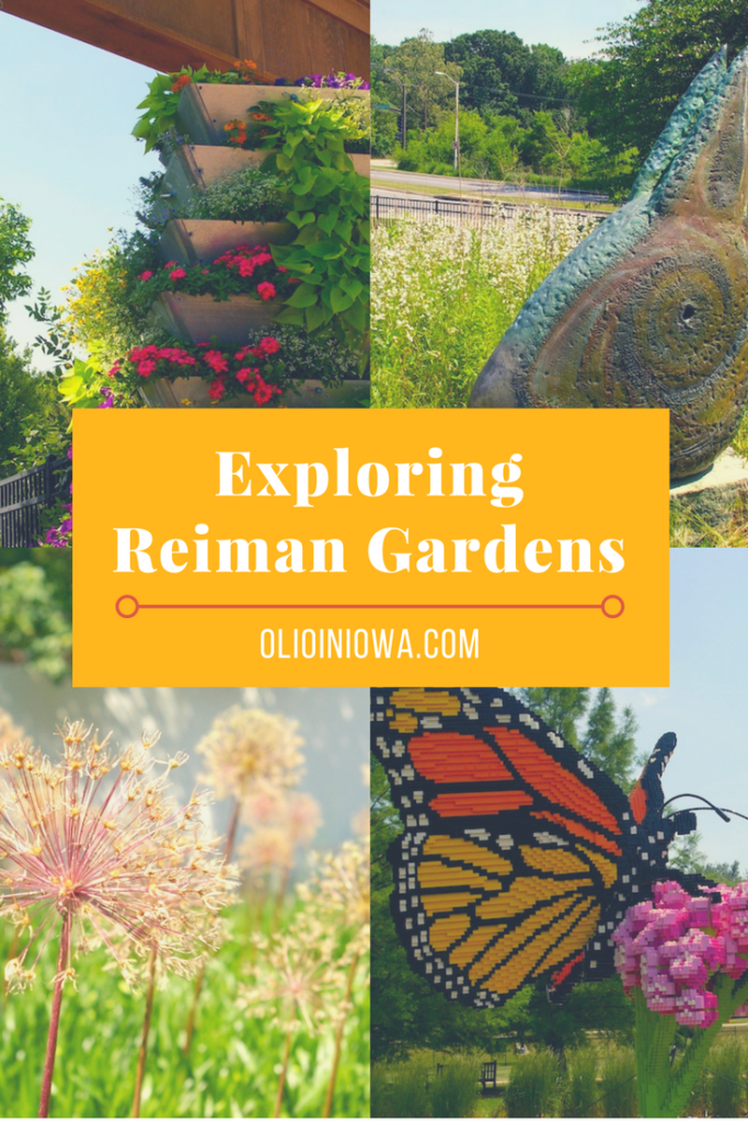 Beauty is in bloom at Reiman Gardens in Ames, Iowa