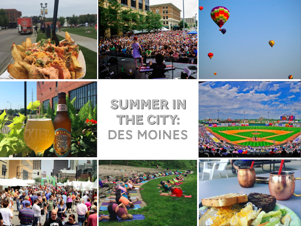 Summer in the City: Des Moines