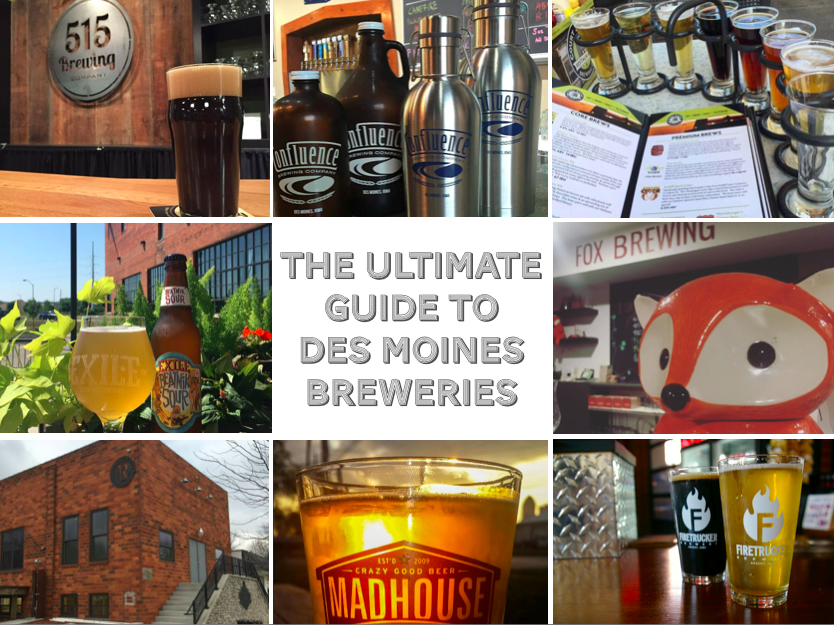 Grab a cold one! The ultimate guide to Des Moines breweries