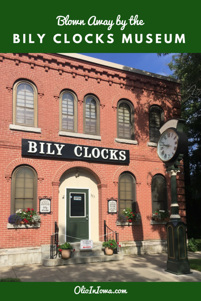 Be blown away by the craftsmanship of the Bily Clock Museum in Spillville, Iowa!