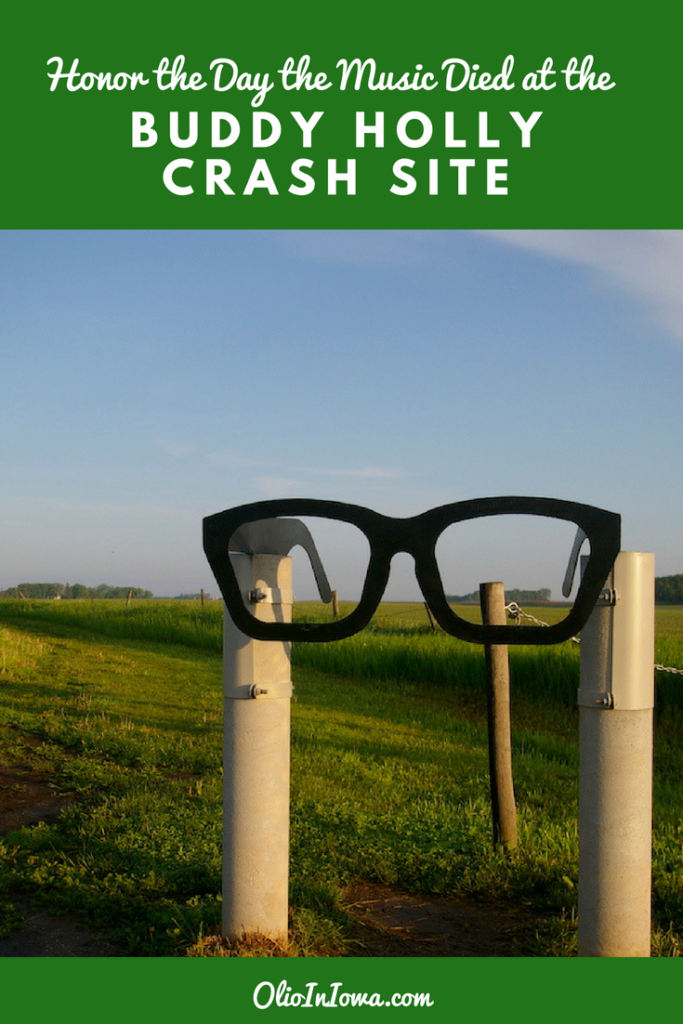Honor the day the music died with a visit to the Buddy Holly crash site near Clear Lake, Iowa. #ThisIsIowa