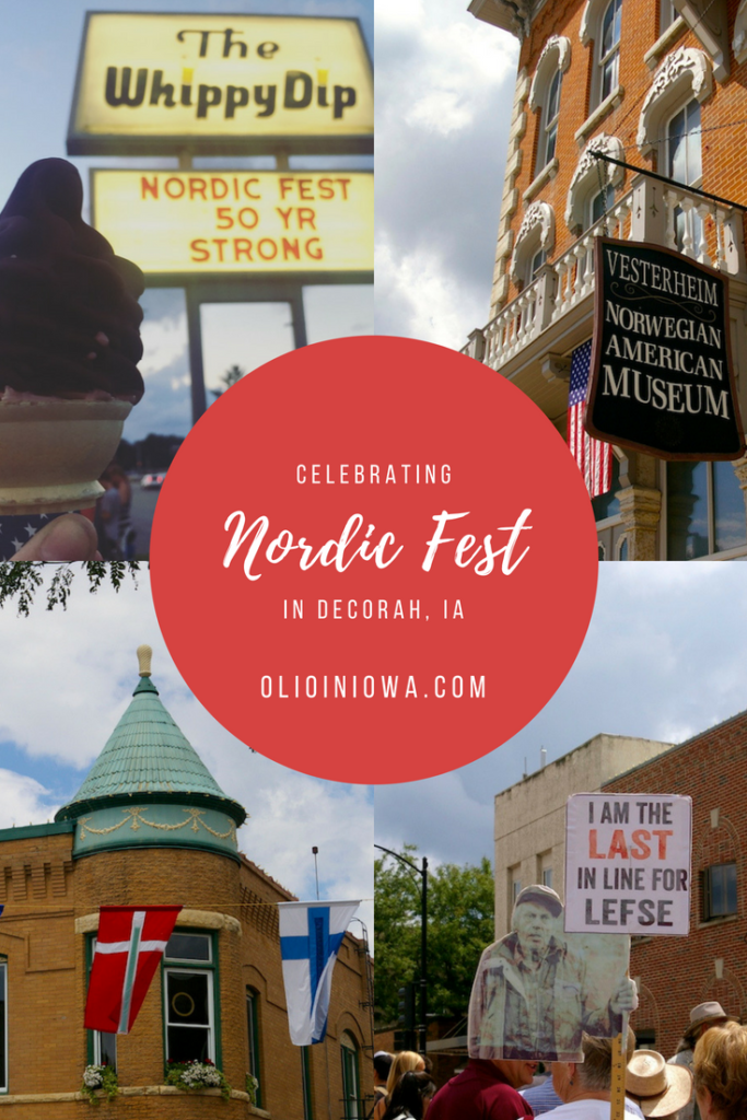 Celebrate an Iowa tradition at Nordic Fest in Decorah, Iowa! Enjoy all the lefse you can eat and experience a unique slice of Nordic culture. #Iowa #ThisIsIowa #NordicFest