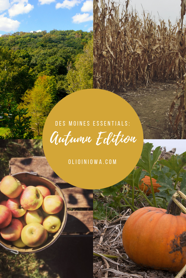 Whether it's a trip to the apple orchard or a hike in the changing leaves, there's lots to love about fall in central Iowa. Discover all of your autumn essentials around the Des Moines metro. #DesMoines #Iowa #ThisIsIowa #autumn