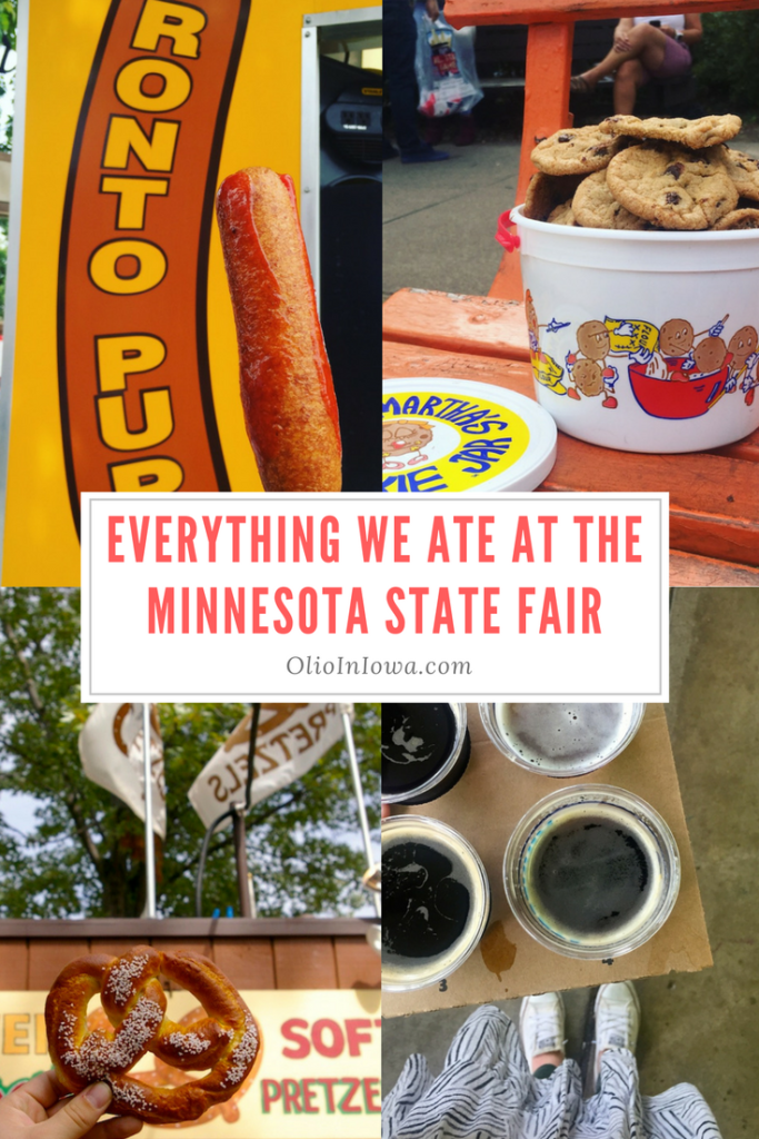 Prepare your stomach! The Minnesota State Fair is full of delicious delicacies