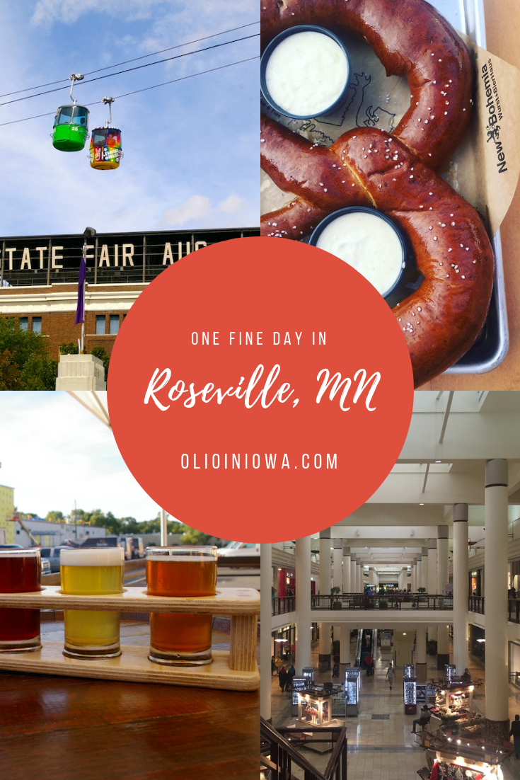 From incredible eats to unique attractions, there is a ton to love about the Twin Cities suburb of Roseville, Minnesota! Plan the perfect day in this incredible Midwest community. #Midwest #Minnesota #Roseville