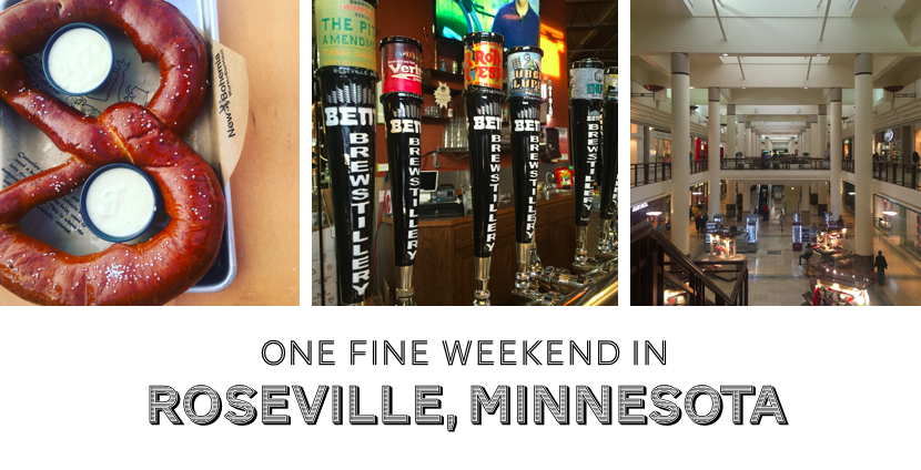 You've been to the Twin Cities, but it's time to discover the magic of Roseville, Minnesota!