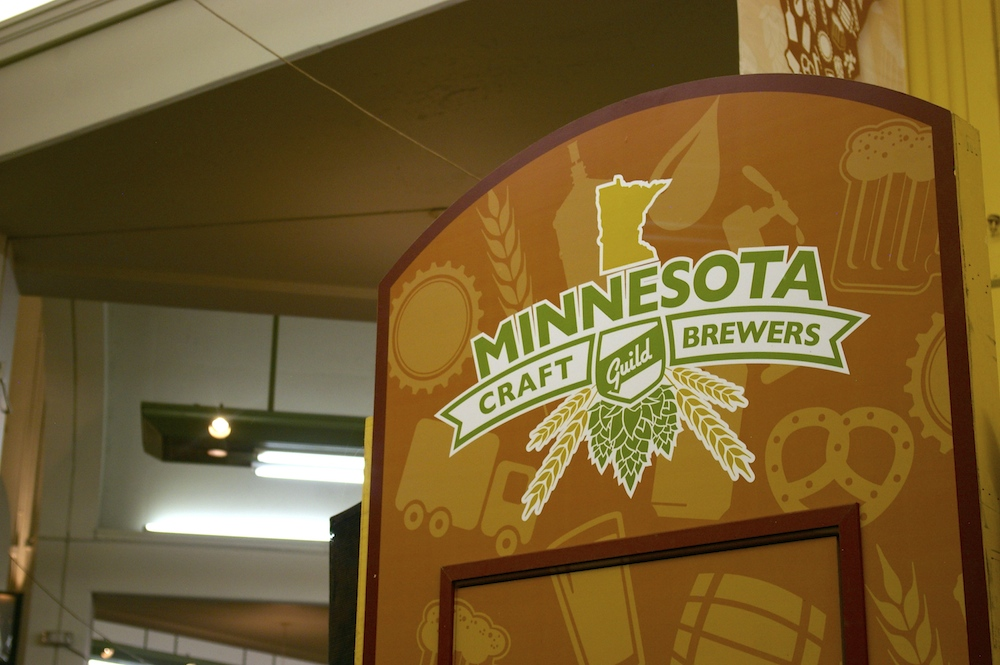 Minnesota Craft Brewers Guild at the Minnesota State Fair in St. Paul, Minnesota