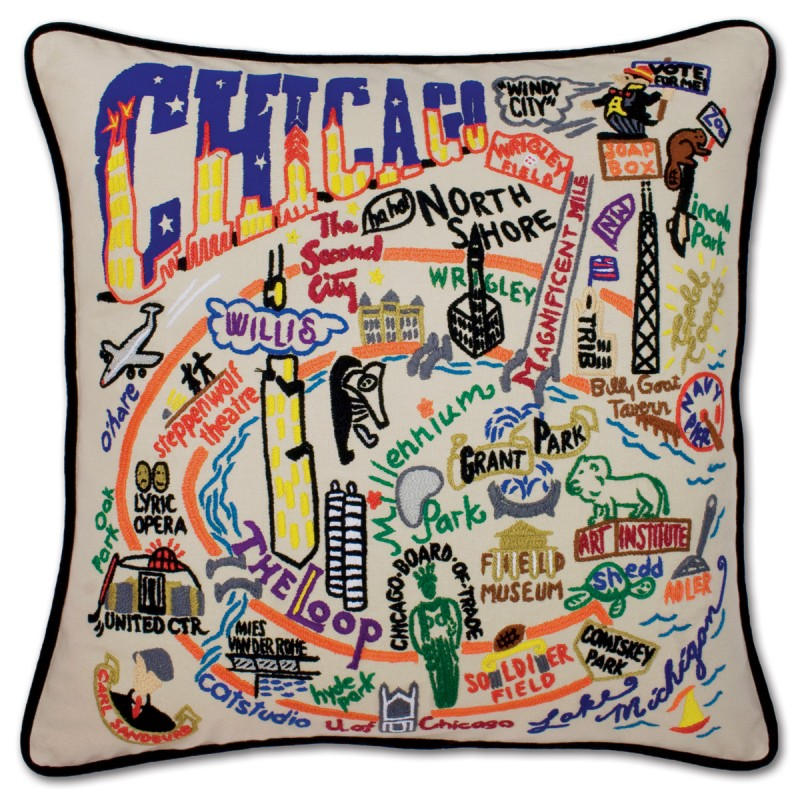 CatStudio Chicago Pillow
