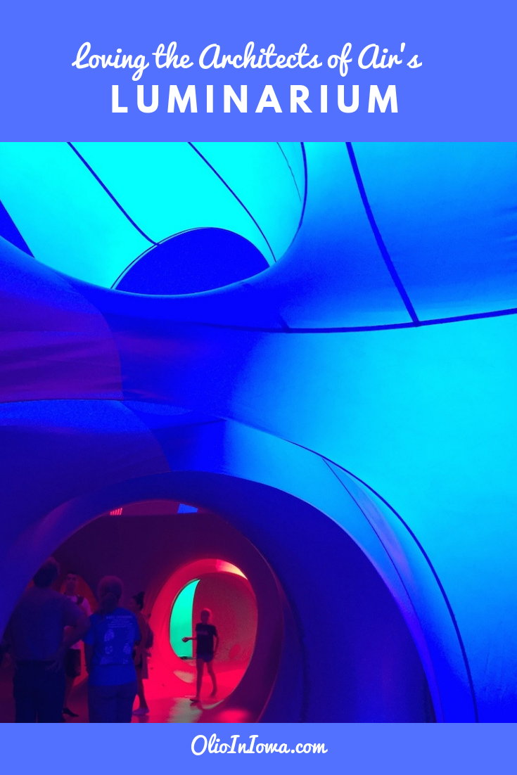 Discover the delights of color and sound with the Architects of Air's Luminarium! These unique, interactive art installations are the perfect way to find creative inspiration and discover new ways to appreciate the world around you. #ArchitectsOfAir #publicart #DesMoines