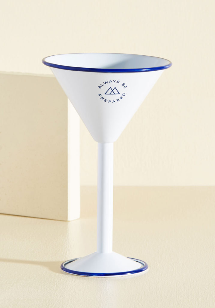 Outdoor Martini Glass