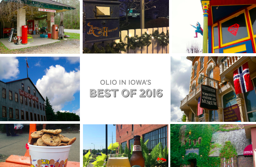Olio in Iowa's Best of 2016