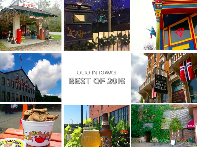 Olio in Iowa's Best of 2016