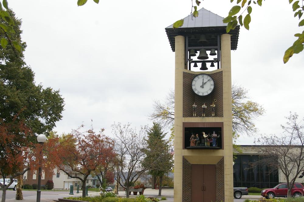Glockenspiel in New Ulm, Minnesota