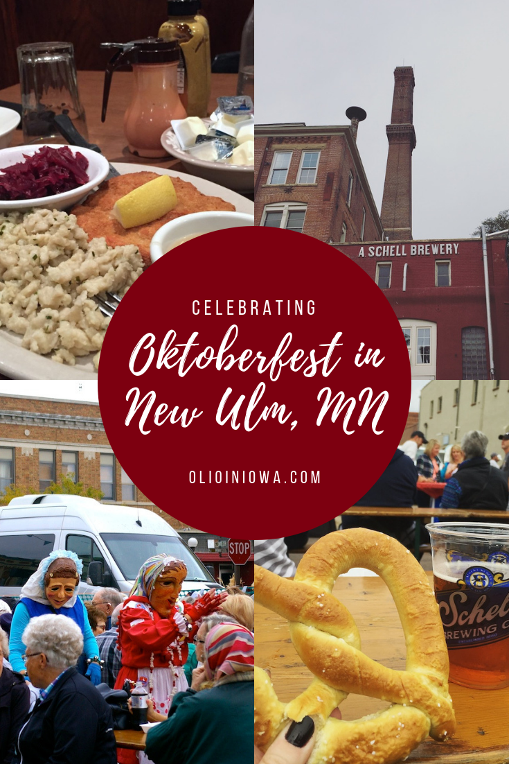 Prost! Did you know that one of the best Oktoberfest celebrations in the U.S. is held in rural Minnesota? Learn why you need to make plans to experience Oktoberfest in New Ulm, Minnesota. #NewUlm #Oktoberfest