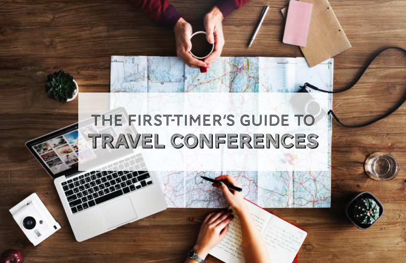 First-timer's guide to travel conferences graphic