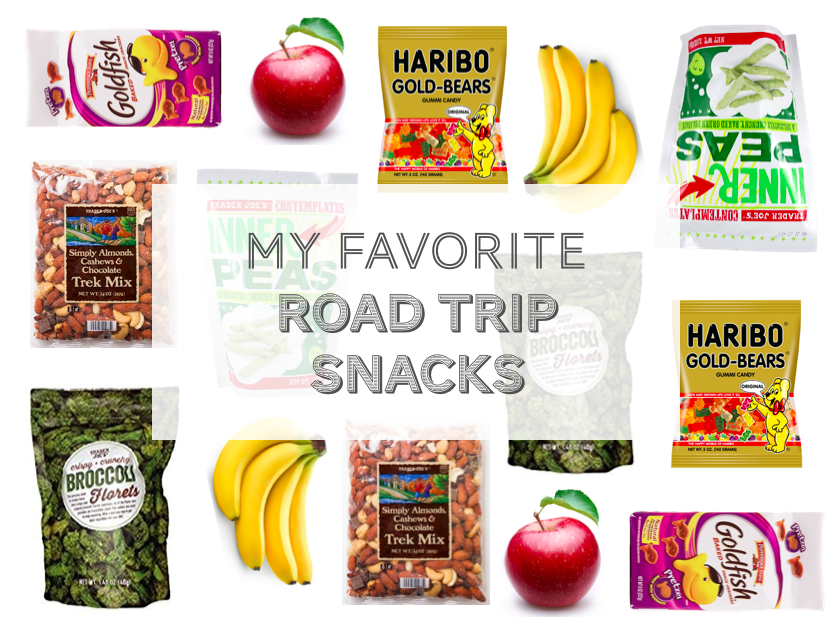 My Favorite Road Trip Snacks