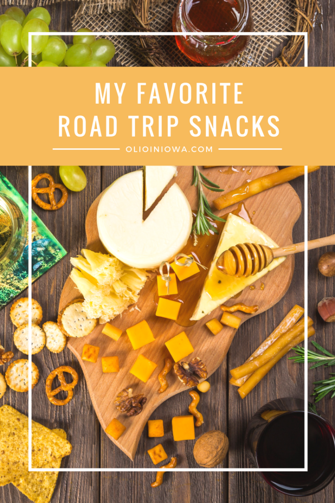 What do you snack on when you're on the road? Check out some of my favorites.