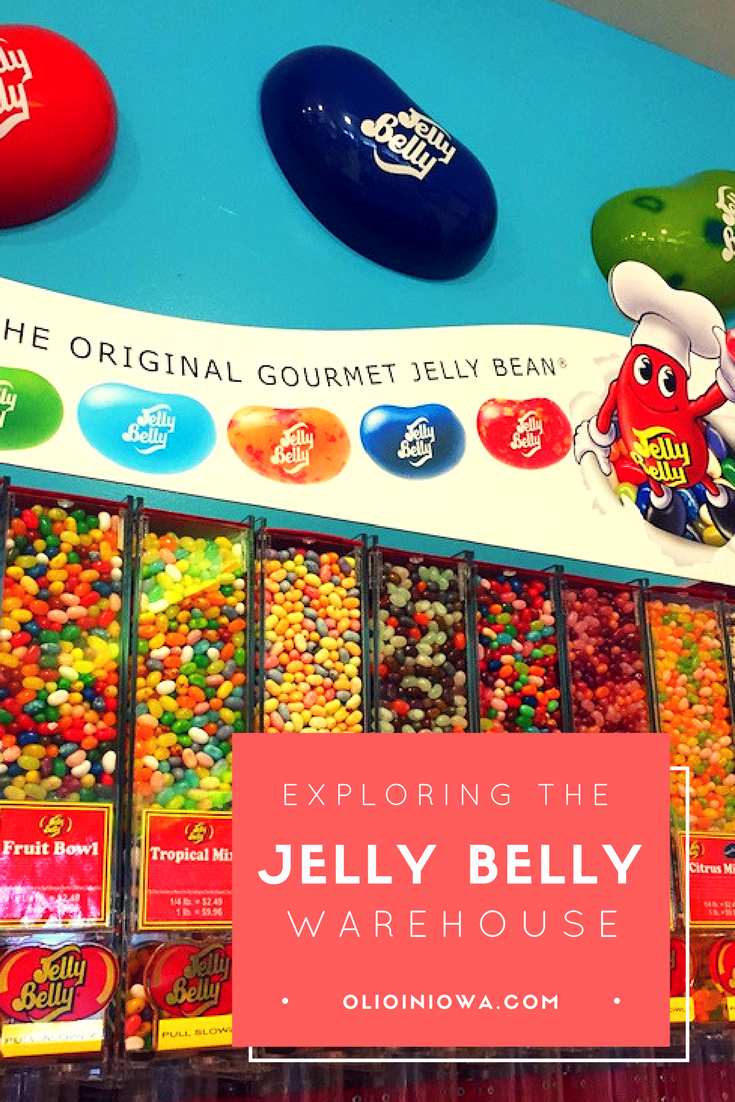Indulge your sweet tooth with a visit to the Jelly Belly Warehouse near Kenosha, WI!