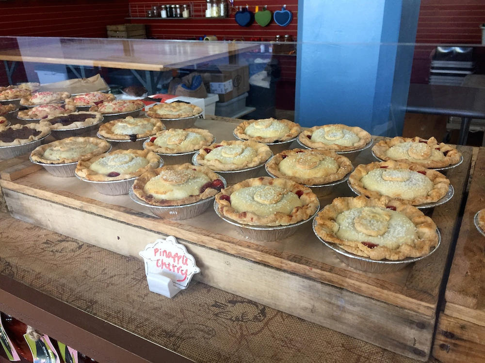 Mini pies at Elsie Mae's Bakery and Cannery in Kenosha, Wisconsin