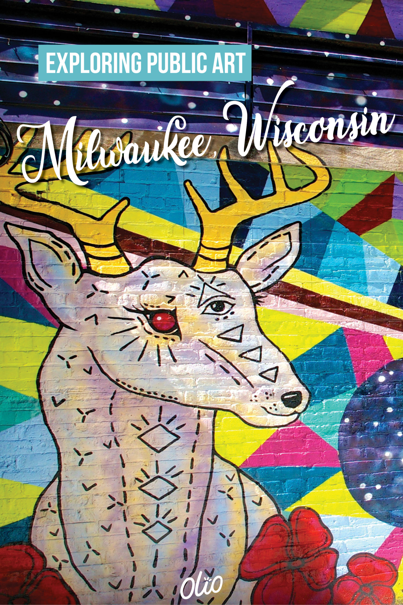Of all the things to do in downtown Milwaukee, Wisconsin, the public art scene is not to be missed! From colorful murals to sculptures attached to office buildings, exploring public art in Milwaukee is a great activity for kids, art lovers and everyone in between. #Milwaukee #Wisconsin #publicart