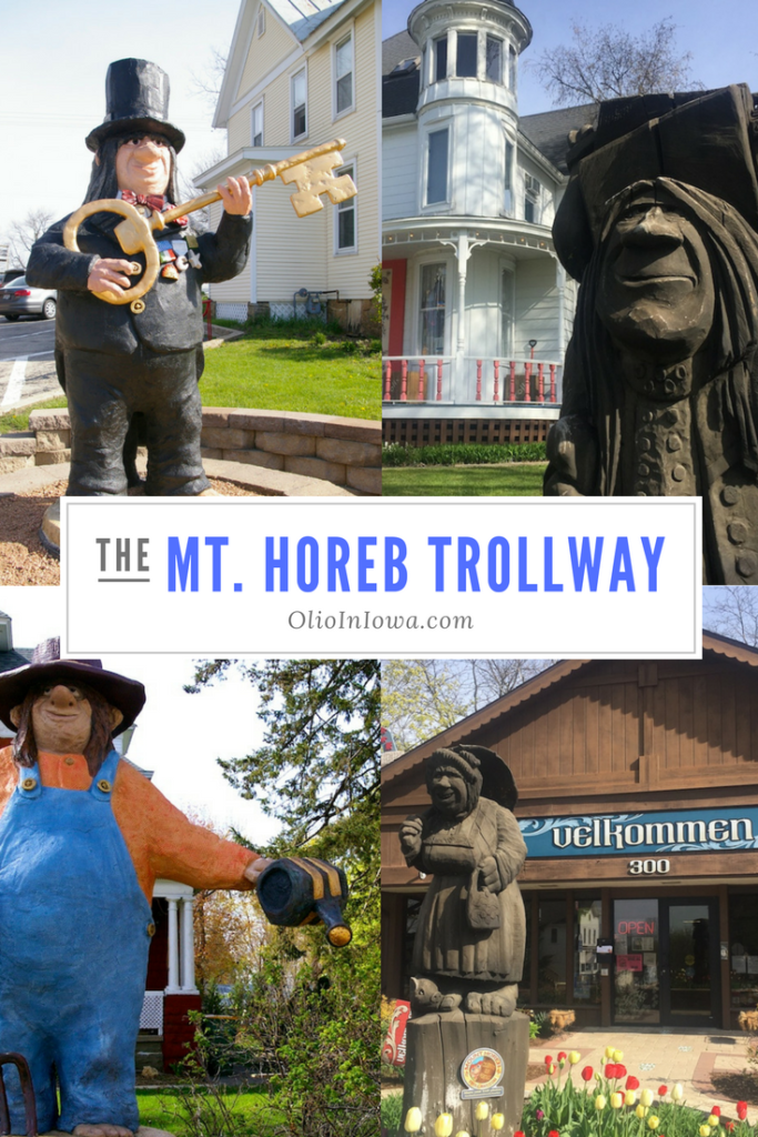 Take an unexpected trek to Wisconsin's Mount Horeb Trollyway!