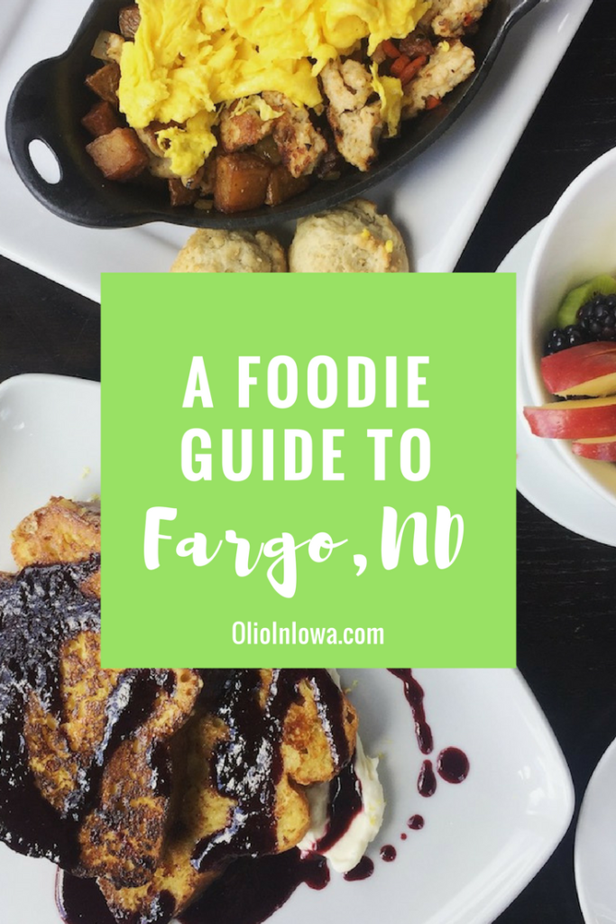 There's tons of delicious food to be found in Fargo, North Dakota!