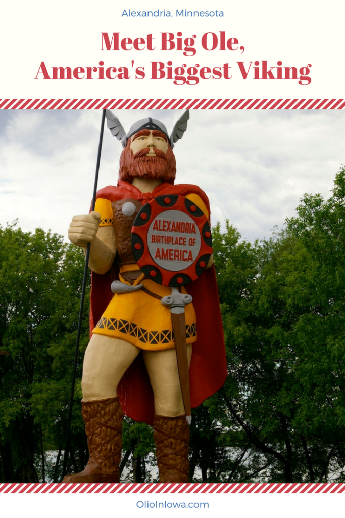 Discover the unique history of Alexandria, MN through Big Ole, America's Biggest Viking!