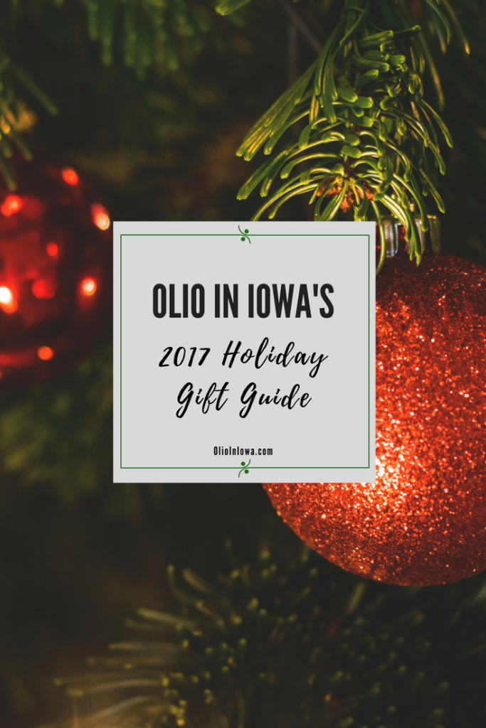 Discover the perfect gift for every type of traveler on your list with Olio in Iowa's 2017 holiday gift guide!