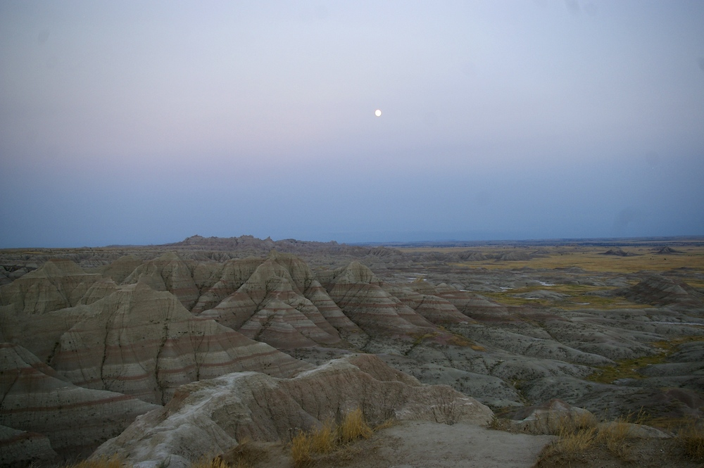 Badlands National Park near Wall, South Dakota